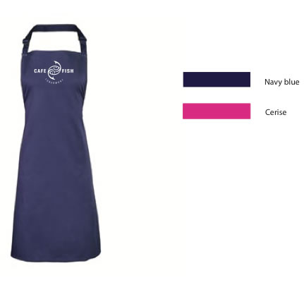 Cafe Fish Apron - Click to enlarge